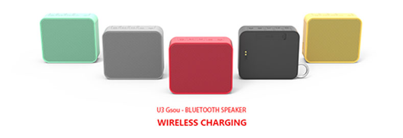 Wireless charging bluetooth speaker released